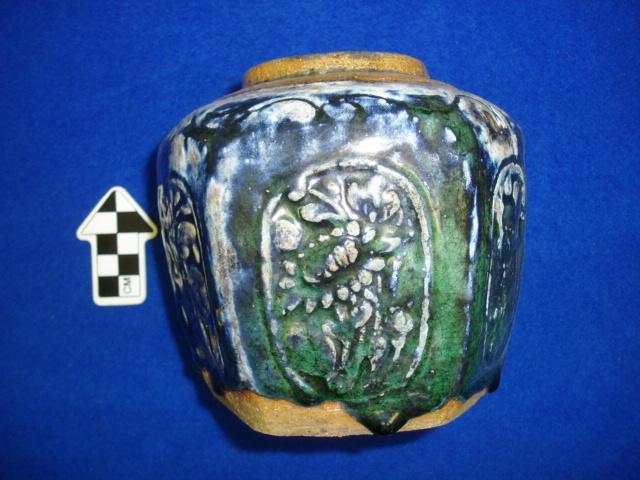 Historic ginger pot