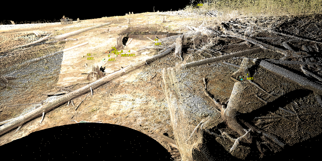 3D Terrestrial LiDAR Modelling