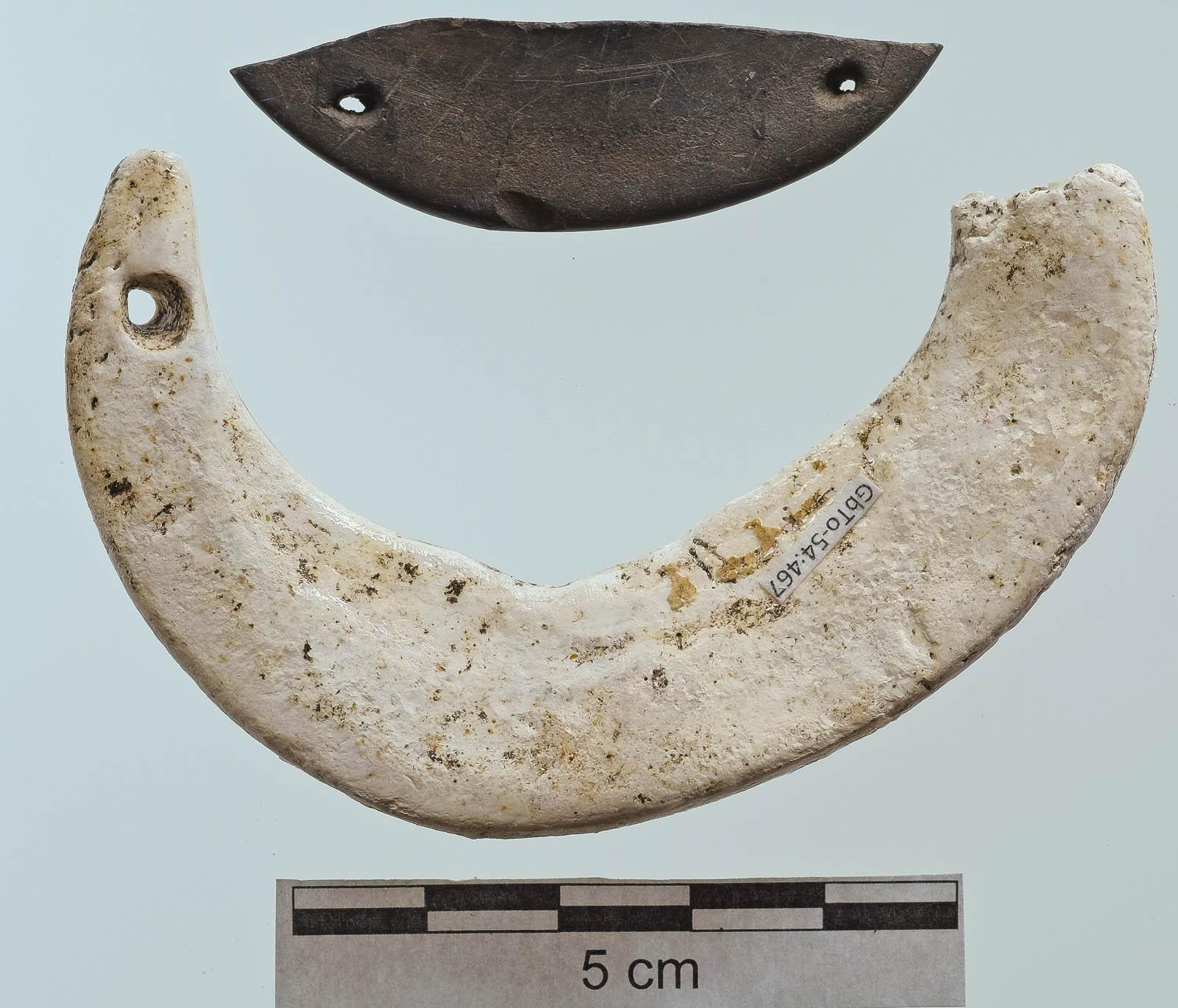 Gorgets, or Crescentic Pendants/Necklaces