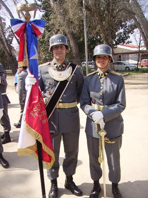 Chilean army gorget